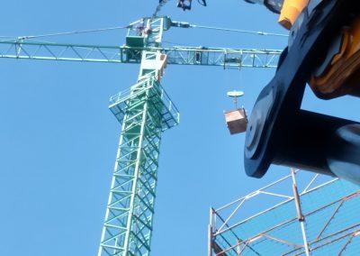 Assistenza montaggio gru edili